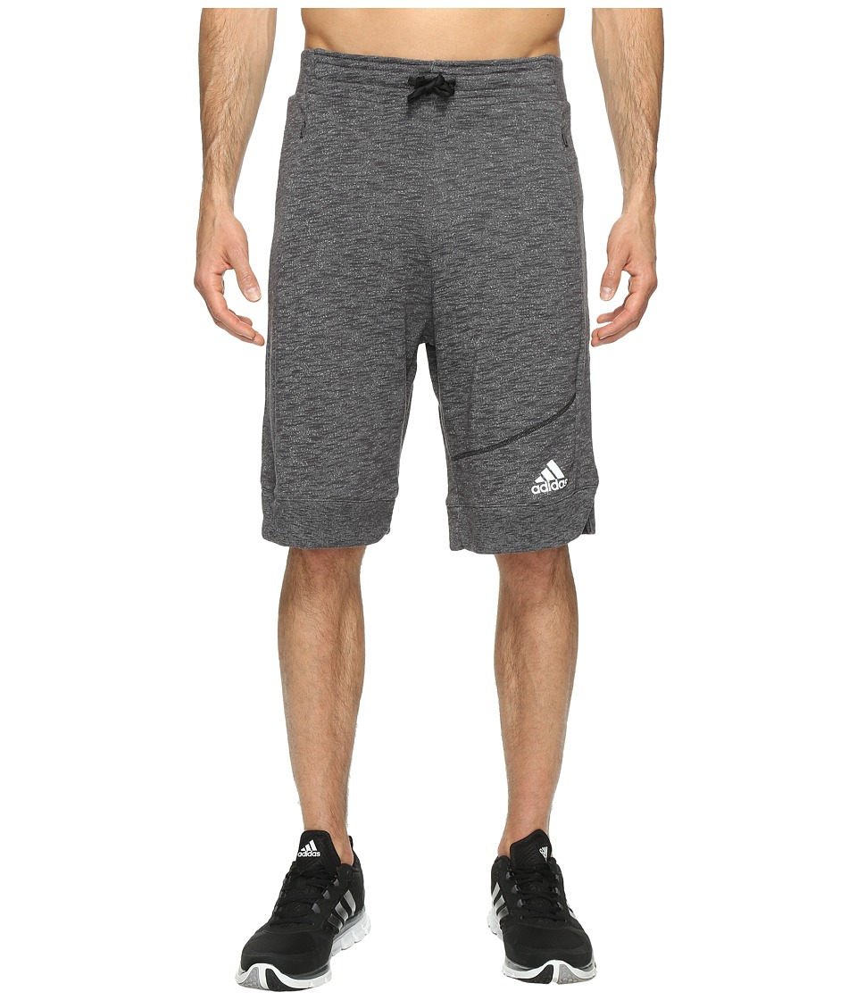 adidas - Cross Up Shorts (Black/Black) Men's Shorts