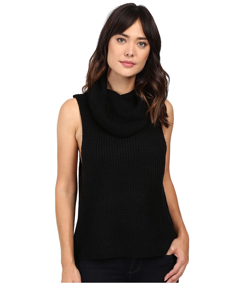 Brigitte Bailey - Una Sleeveless Sweater (Black) Women's Sweater