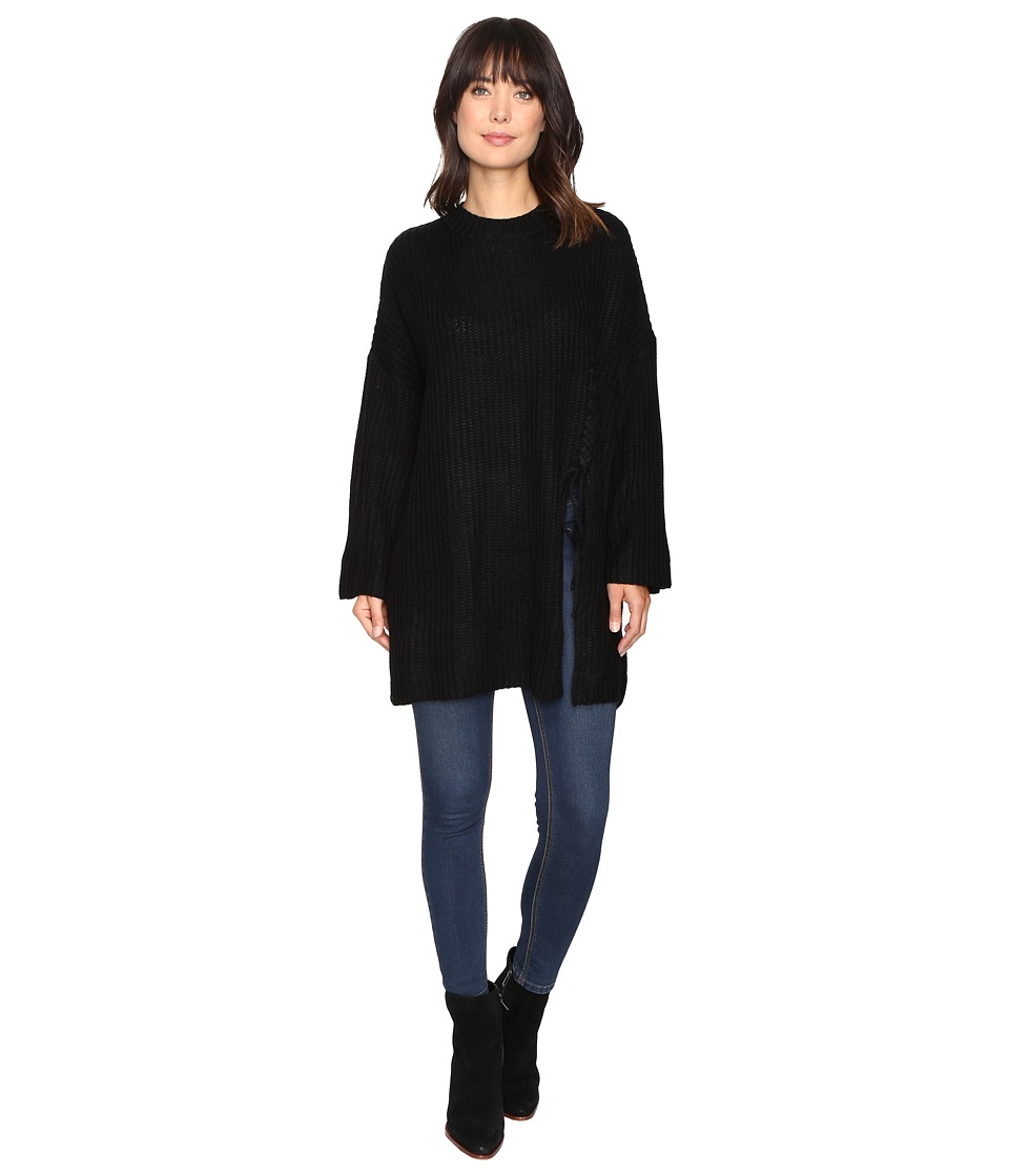 Brigitte Bailey - Layla Oversized Sweater (Black) Women's Sweater