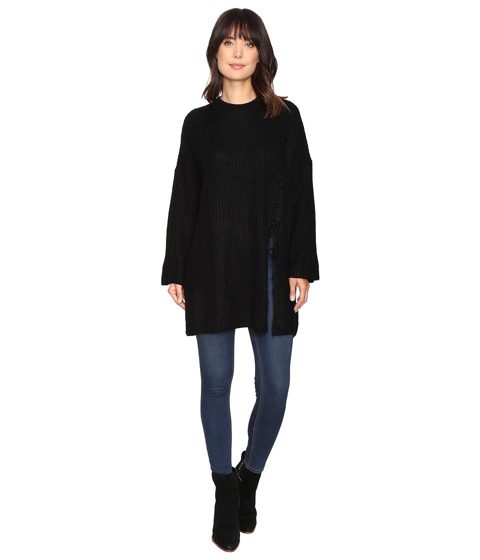Brigitte Bailey - Layla Oversized Sweater (Black) Women's Sweater