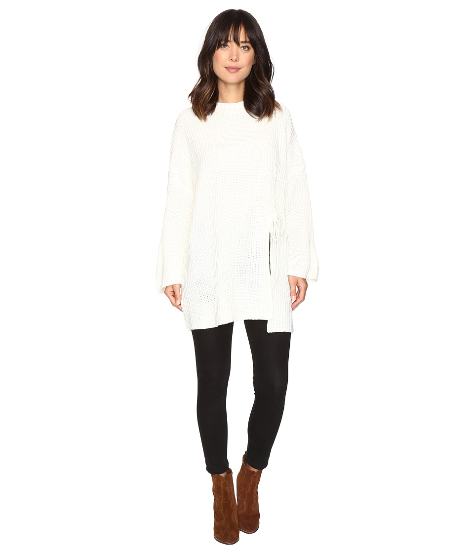 Brigitte Bailey - Layla Oversized Sweater (Ivory) Women's Sweater