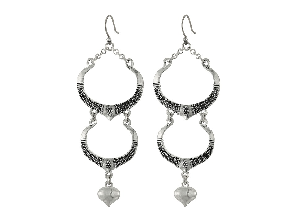 Lucky Brand - Long Earrings (Silver) Earring