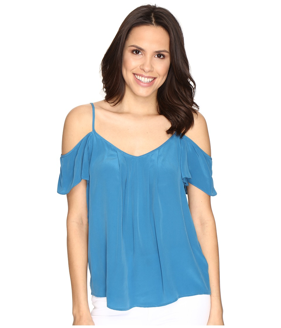 Joie - Adorlee Top (Nineties Blue) Women's Blouse