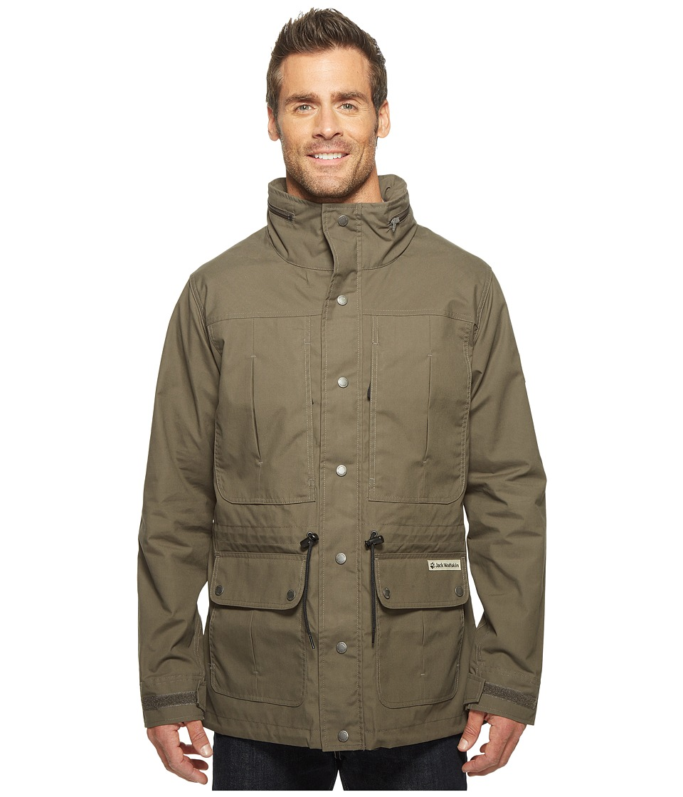 Jack Wolfskin - Merlin (Olive Brown) Men's Coat