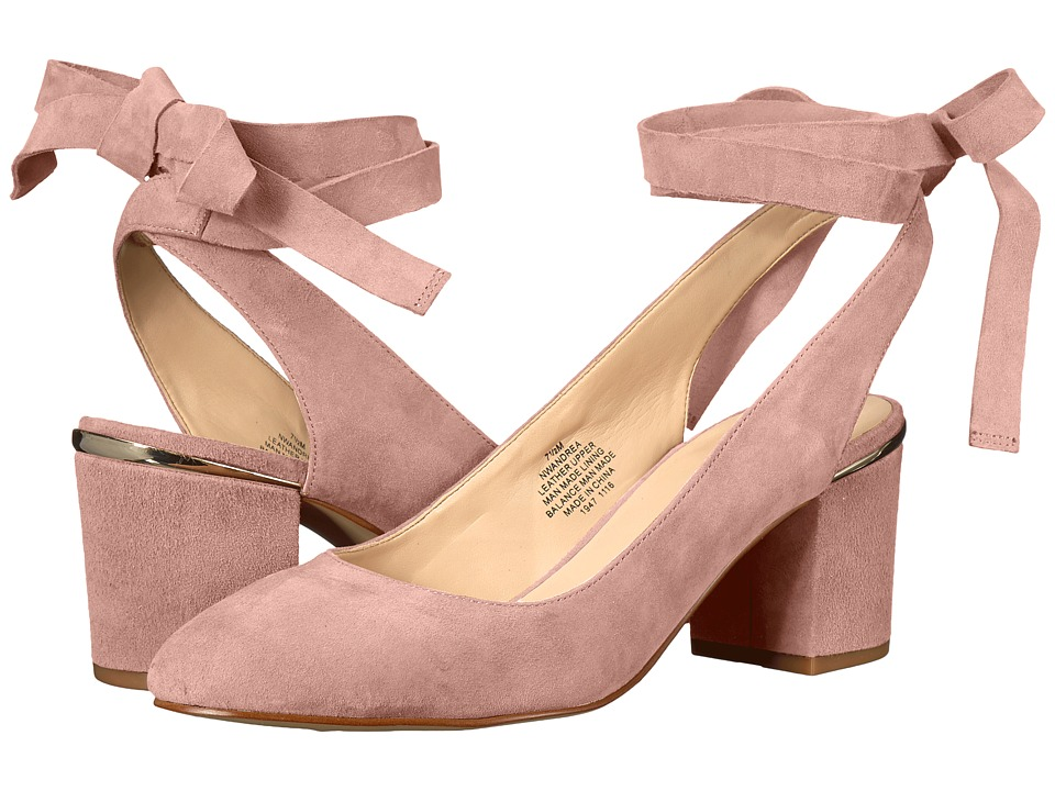 Nine West Andrea (Light Pink Suede) Women