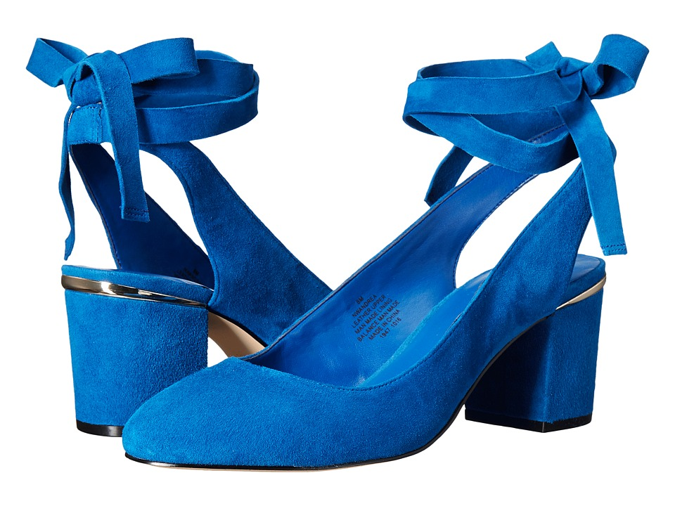 Nine West Andrea (Blue Suede) Women