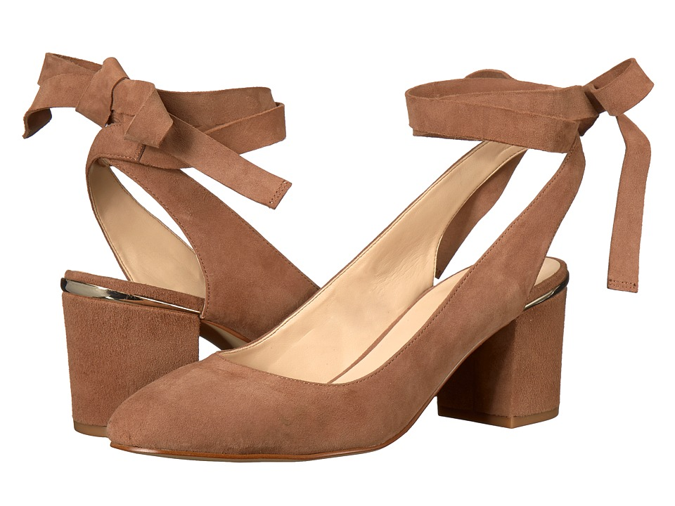 Nine West Andrea (Natural Suede) Women