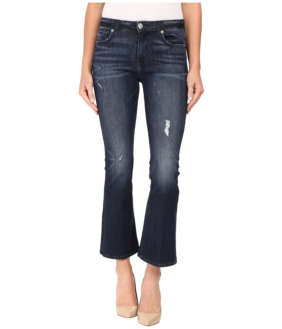 Hudson - Mia Crop Flare in Electric Clover Destructed (Electric Clover Destructed) Women's Jeans
