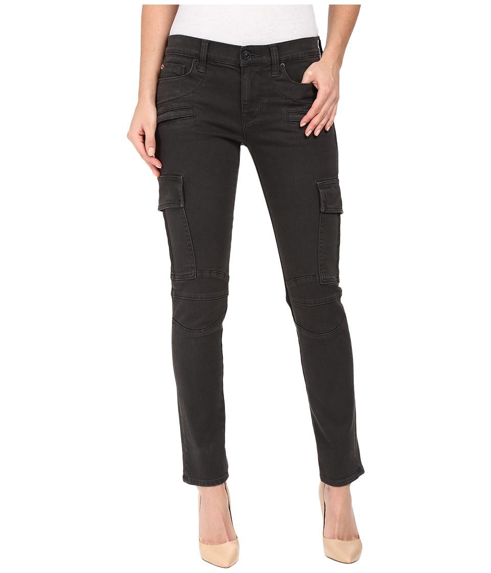Hudson - Colby Ankle Moto Skinny Cargo in Smoky Dark Grey (Smoky Dark Grey) Women's Jeans