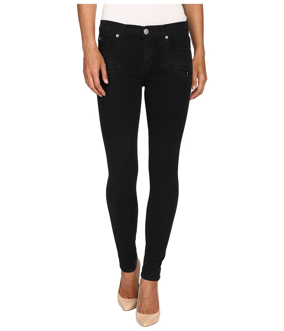 Hudson - Roe Mid-Rise Ankle Super Skinny in Assailant (Assailant) Women's Jeans