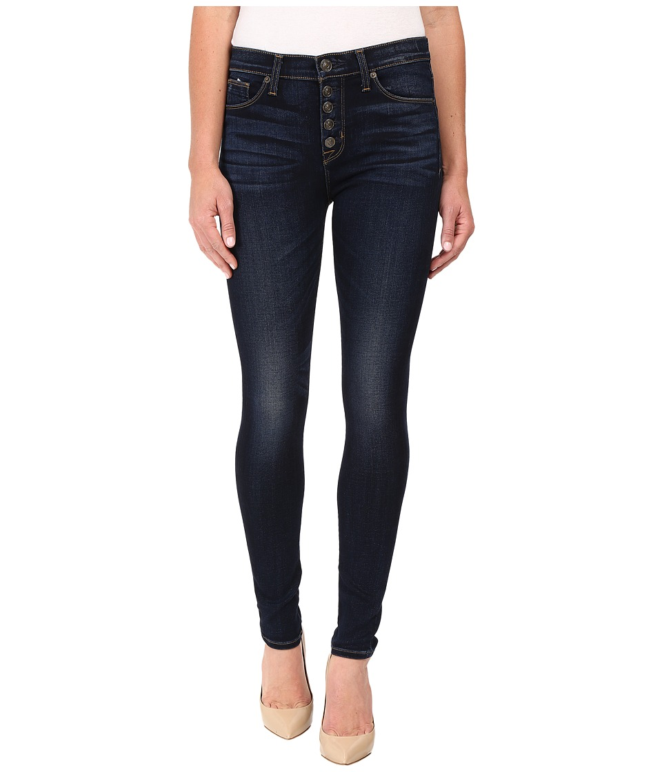 Hudson - Ciara Exposed Button Skinny High-Rise in Calvary (Calvary) Women's Jeans