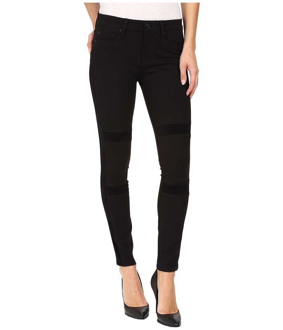 Hudson - Amory Super Skinny Ponte in Black (Black) Women's Jeans