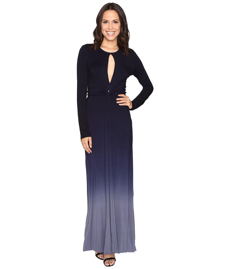 Young Fabulous & Broke - Mariel Dress (Navy/Slate Ombre) Women's Dress