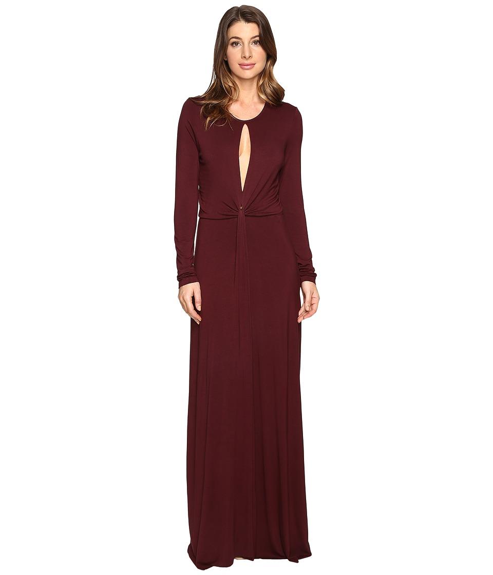 Young Fabulous & Broke - Mariel Dress (Burgundy) Women's Dress