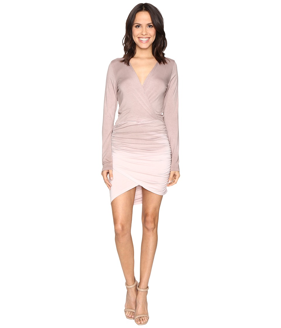 Young Fabulous & Broke - Lex Dress (Mocha Ombre) Women's Dress