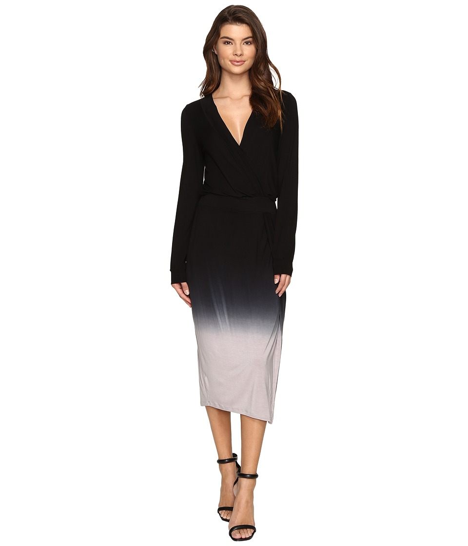 Young Fabulous & Broke - Mariah Dress (Black/Grey Ombre) Women's Dress