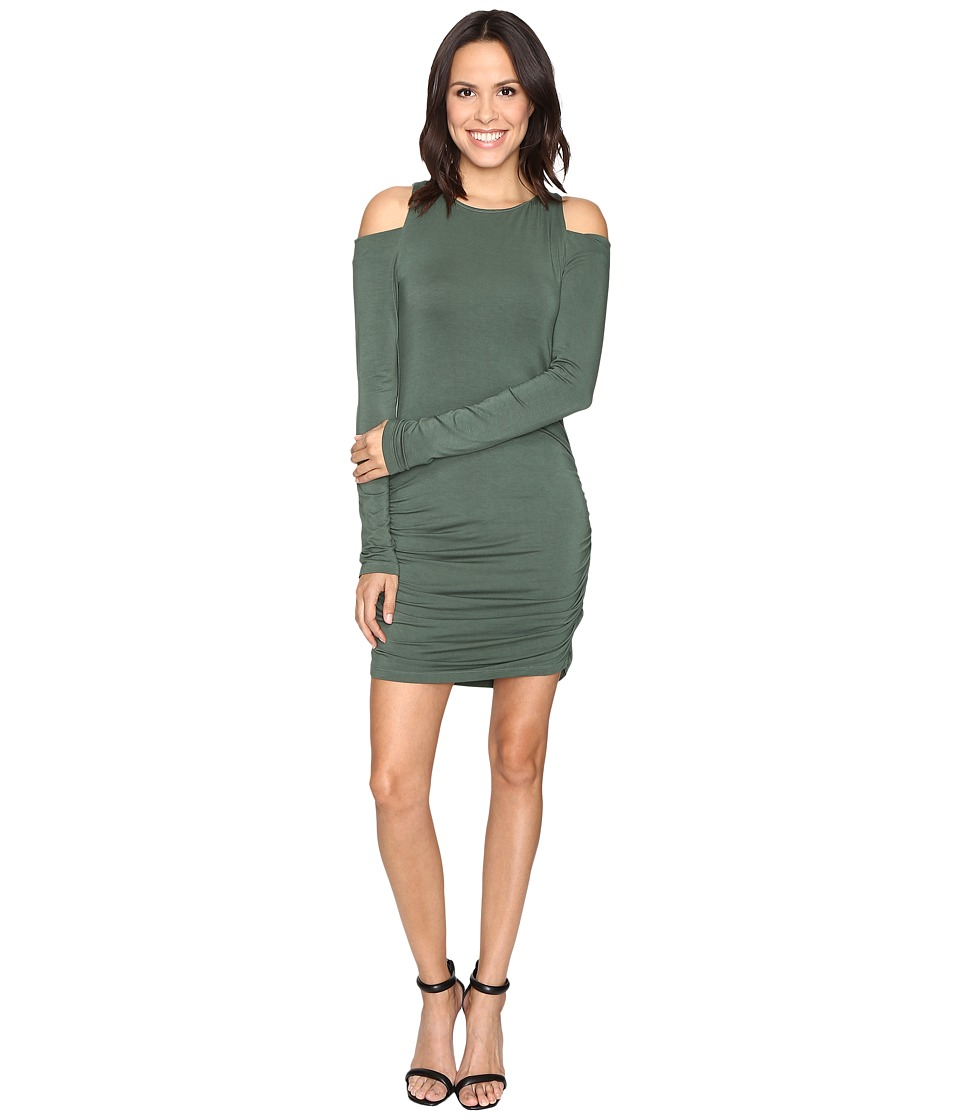 Young Fabulous & Broke - Kila Dress (Hunter Green) Women's Dress