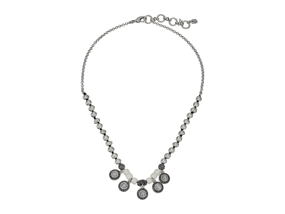Lucky Brand - Bone Collar Necklace (Silver) Necklace