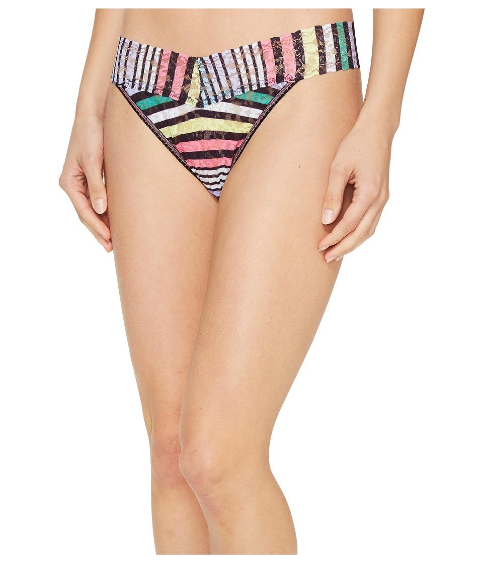 Hanky Panky - Chalk Stripe Original Rise Thong (Multi) Women's Underwear