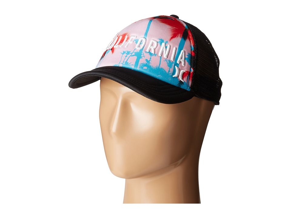Hurley - Cali Trucker Hat (Multi) Caps