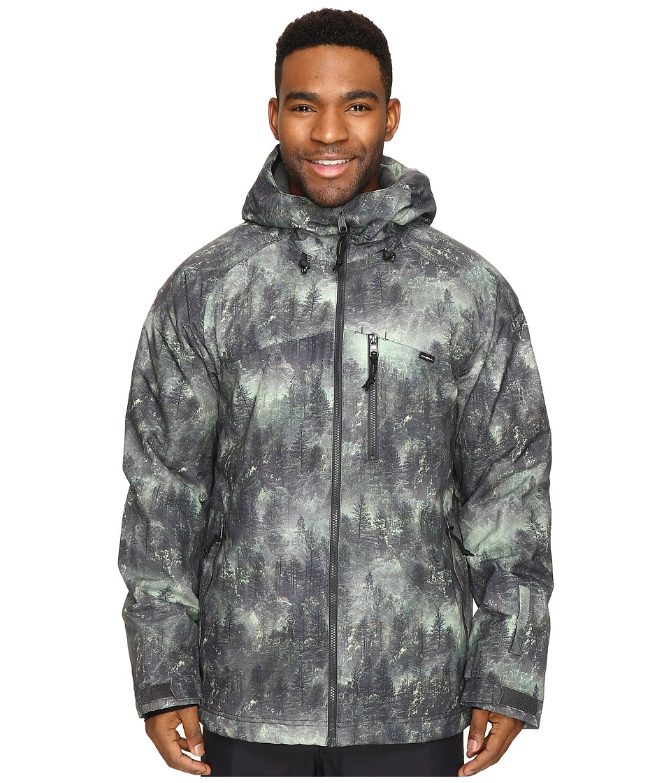 O'Neill - Proton Jacket (Green All Over Print) Men's Coat