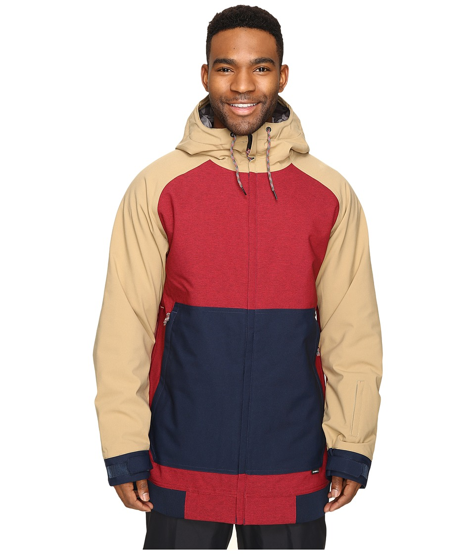 O'Neill - Seb Toots Jacket (Scooter Red) Men's Coat