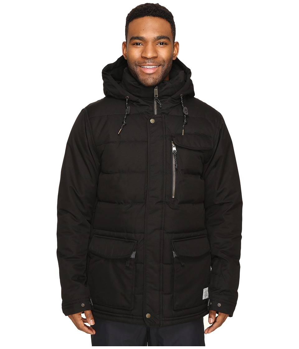 O'Neill - Sculpture Jacket (Black Out) Men's Coat