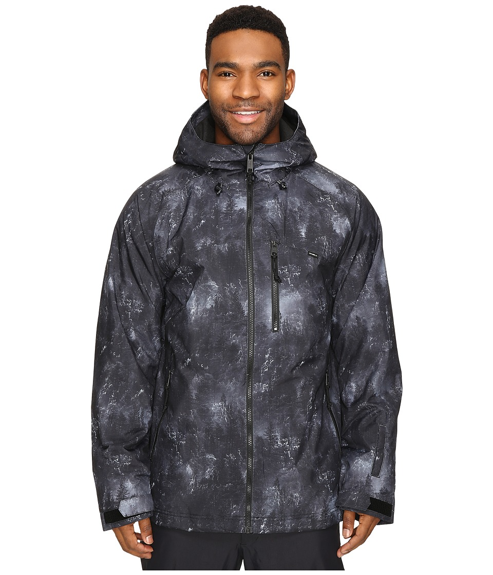 O'Neill - Proton Jacket (Black All Over Print) Men's Coat
