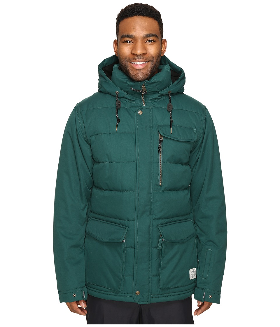 O'Neill - Sculpture Jacket (Botanical Green) Men's Coat