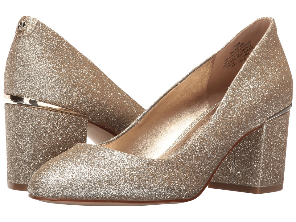 Nine West Astor 3 (Light Gold Patent) Women