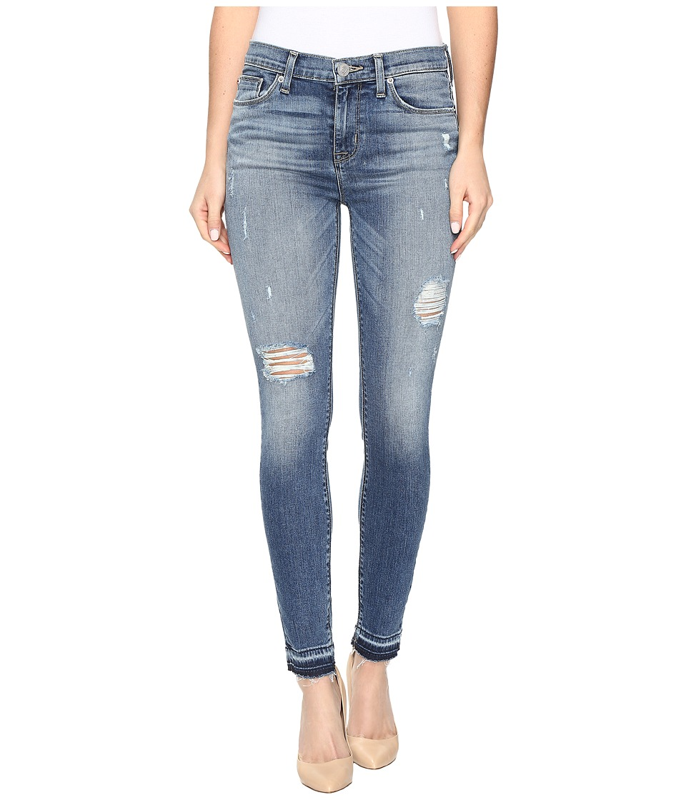 Hudson - Nico Mid-Rise Ankle Super Skinny w/ Released Hem in Decimate/Distress (Decimate/Distress) Women's Jeans
