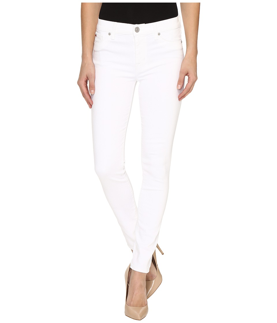 Hudson - Nico Mid-Rise Ankle Super Skinny in White (White) Women's Jeans
