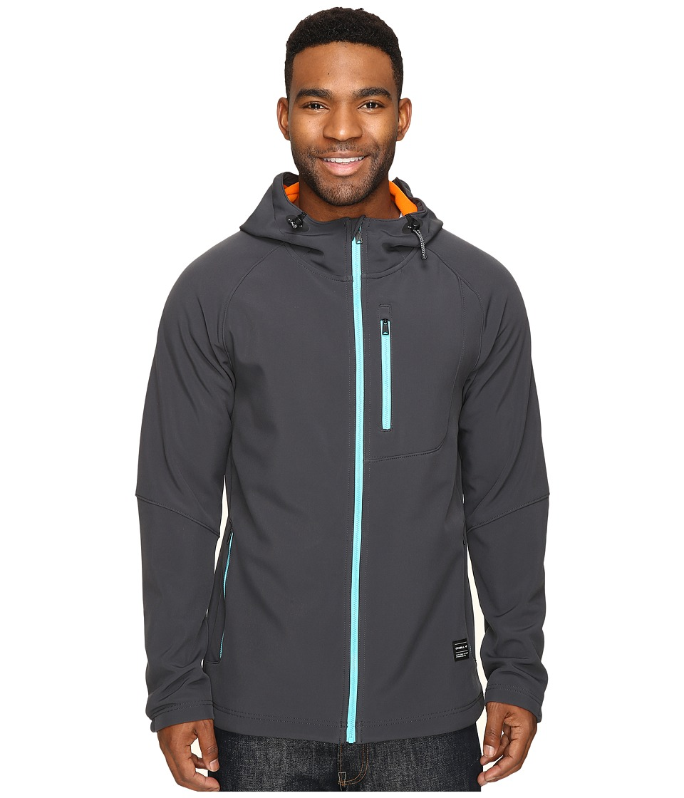 O'Neill - Exile Softshell (Granite) Men's Fleece