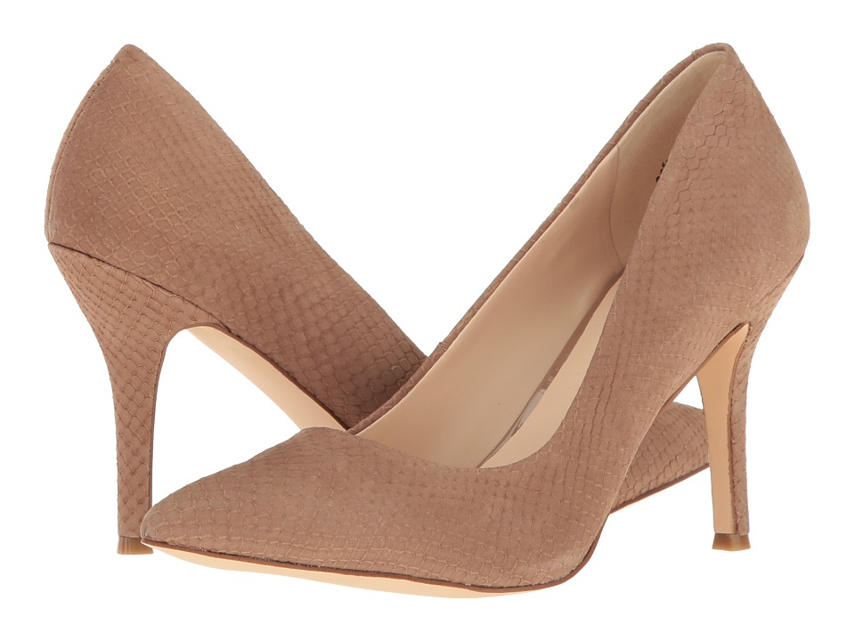 Nine West - Flax (Natural Nubuck) High Heels