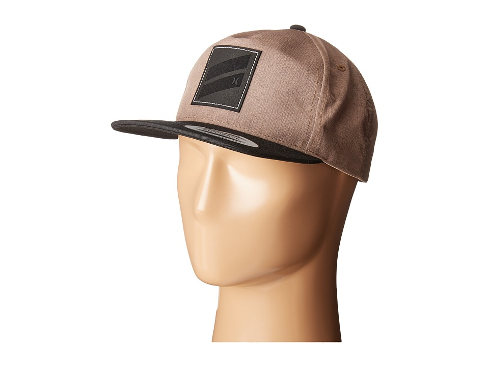 Hurley - Icon Slash 2.0 (Khaki) Caps