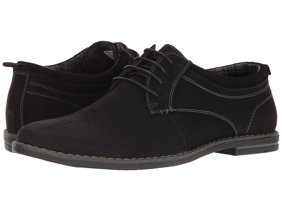 Steve Madden Frequent (Black Nubuck) Men