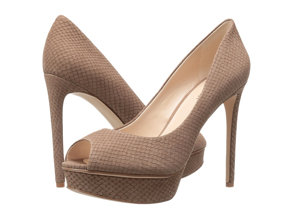 Nine West - Edlyn (Natural Nubuck) Women's Shoes