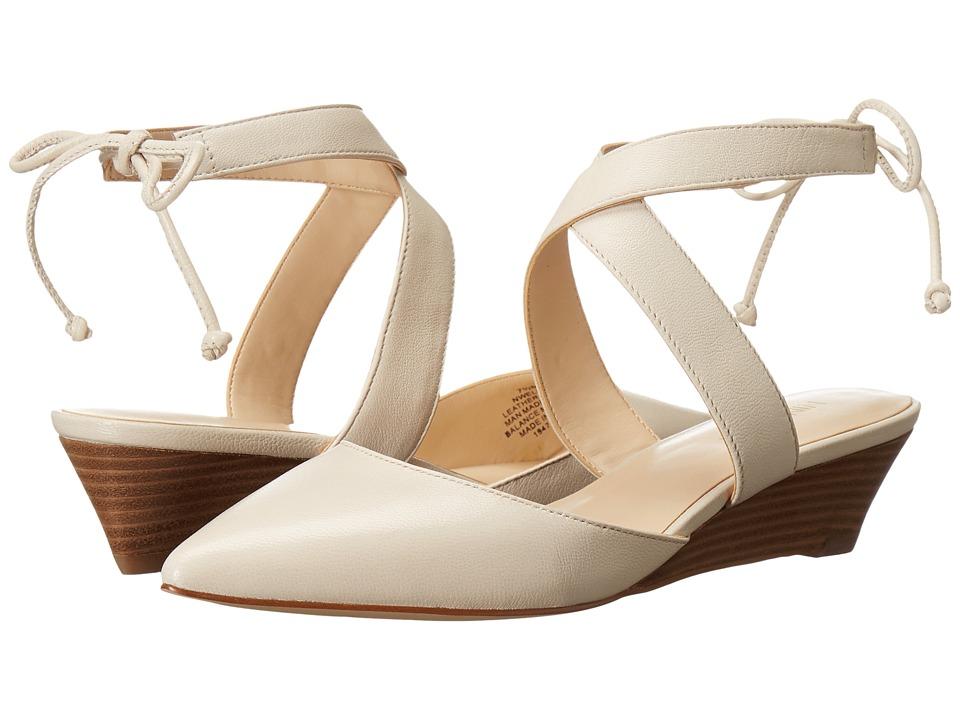 Nine West - Elira (Off-White Leather) Women's Shoes