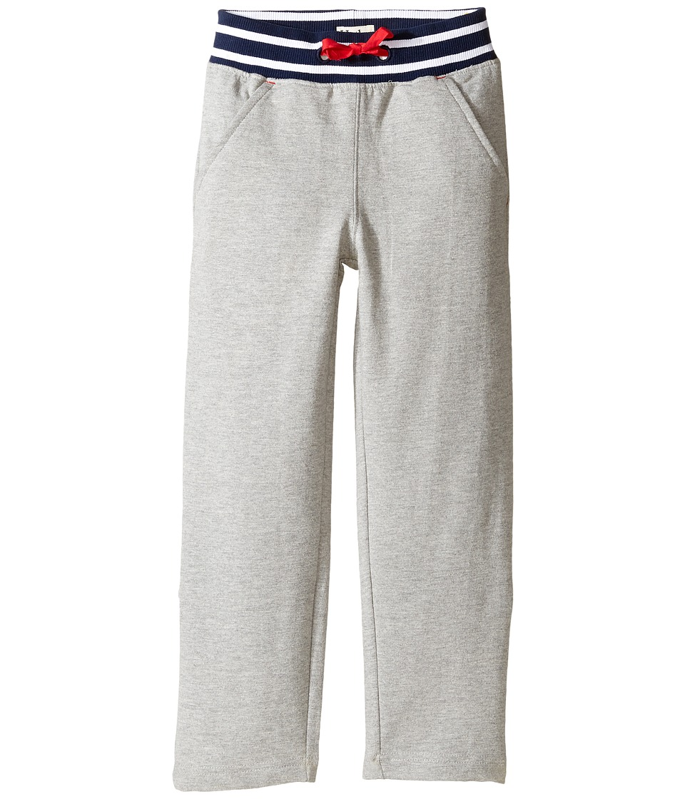 Hatley Kids - French Terry Roll Up Pants (Toddler/Little Kids/Big Kids) (Gray) Boy's Casual Pants