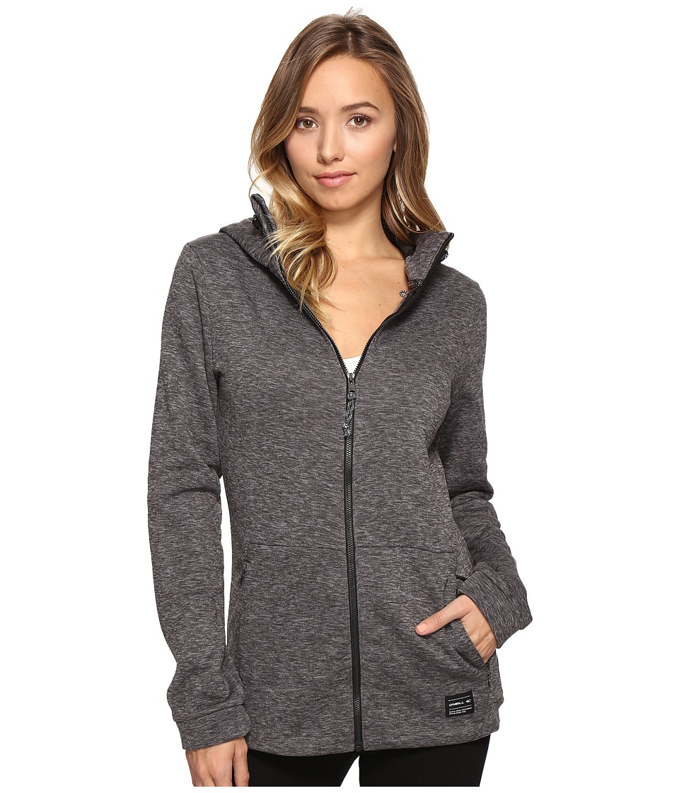 O'Neill - Hoodie Fleece (Silver Melee) Women's Fleece