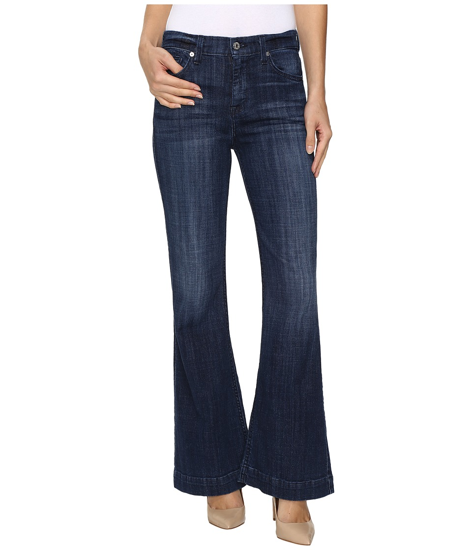 7 For All Mankind Tailorless Ginger in Bordeaux Broken Twill (Bordeaux Broken Twill) Women