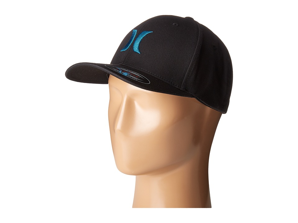 Hurley - One Only Flexfit(r) Hat (Chlorine Blue) Caps