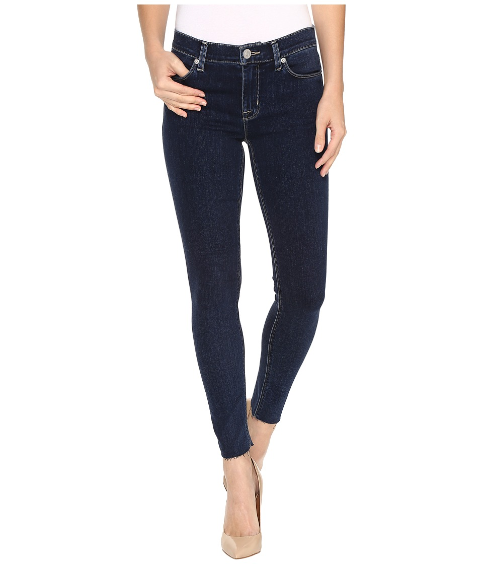 Hudson - Nico Mid-Rise Ankle Raw Hem Super Skinny in Unruly (Unruly) Women's Jeans