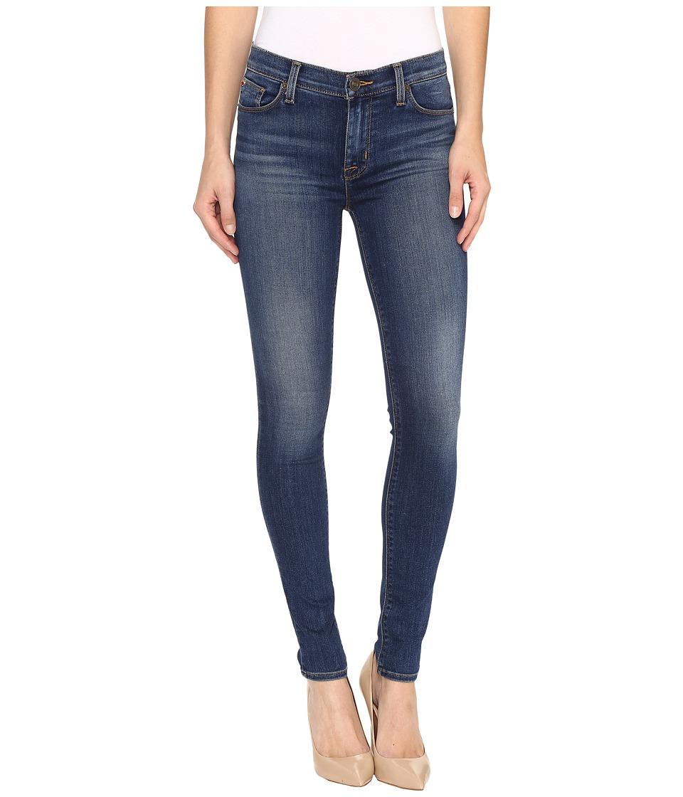 Hudson - Nico Mid-Rise Super Skinny in Grave (Grave) Women's Jeans