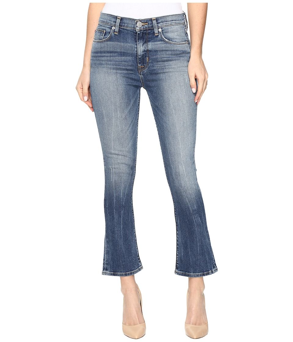 Hudson - Harper High-Rise Crop Baby Kick Flare in Lifeline (Lifeline) Women's Jeans