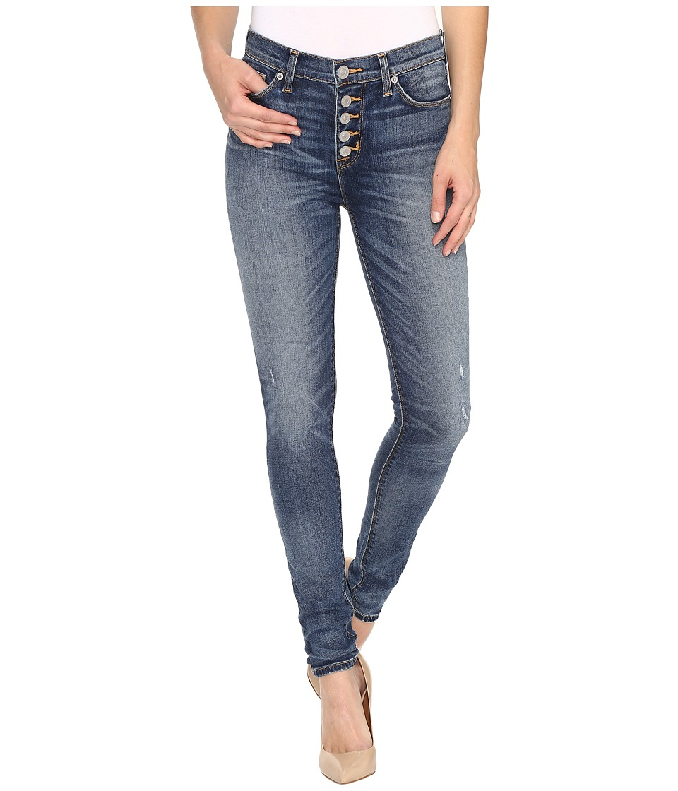 Hudson - Ciara High-Rise Exposed Buttons in Disharmony (Disharmony) Women's Jeans