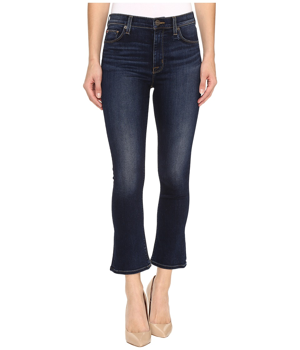 Hudson - Harper High-Rise Crop Baby Kick Flare in Corps (Corps) Women's Jeans