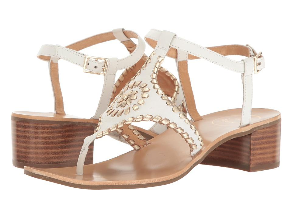 Jack Rogers - Elise (White/Platinum) Women's Sandals