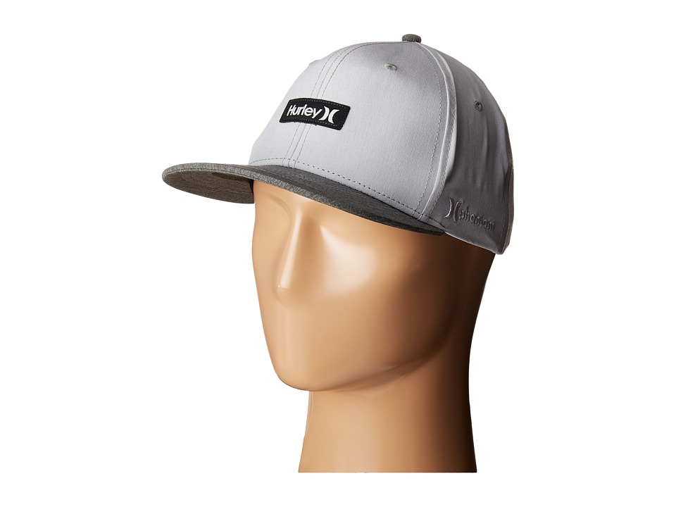 Hurley - Phantom One Only (Wolf Grey) Caps