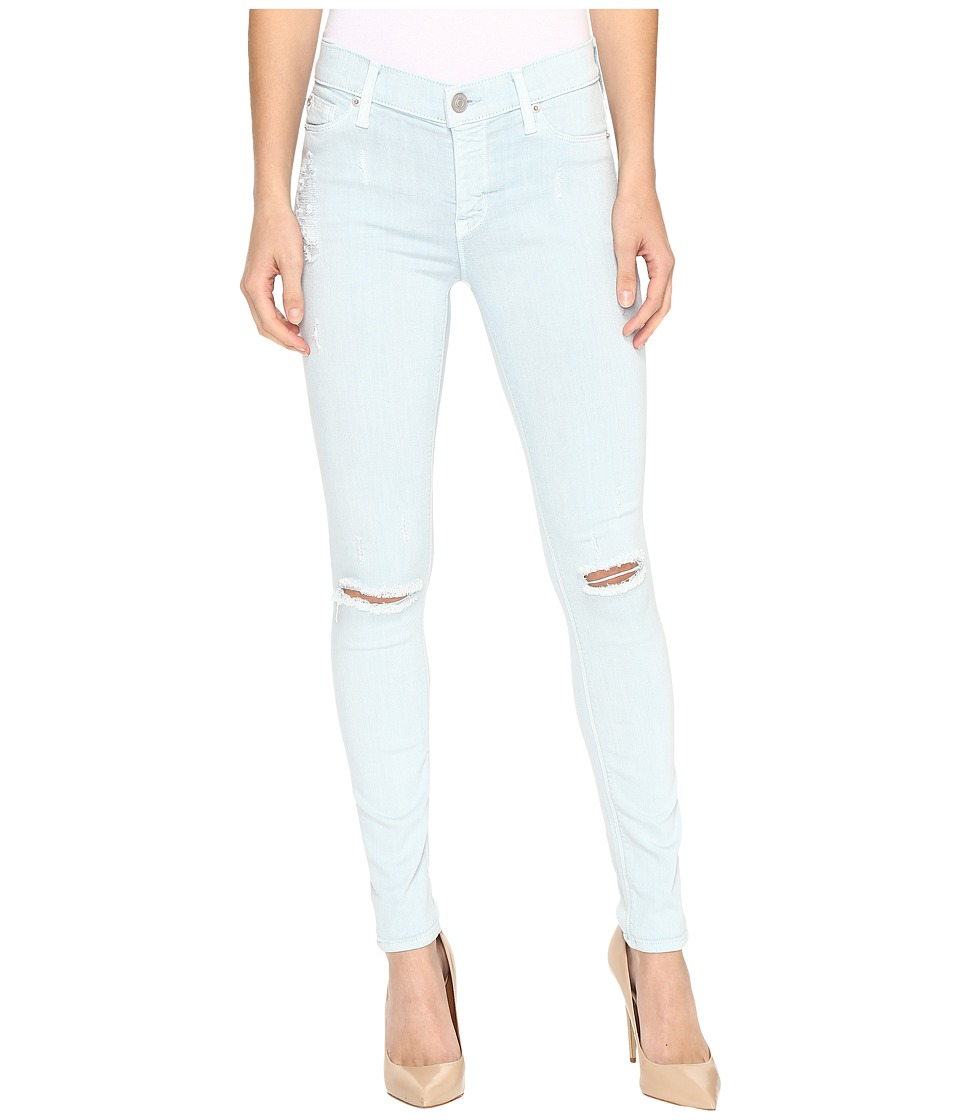 Hudson - Nico Mid-Rise Skinny w/ Distress in Leaflet Destruct (Leaflet Destruct) Women's Jeans